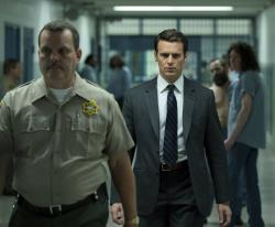 """Jonathan Groff in a scene from the 10-episode series, """"Mindhunter."""""""