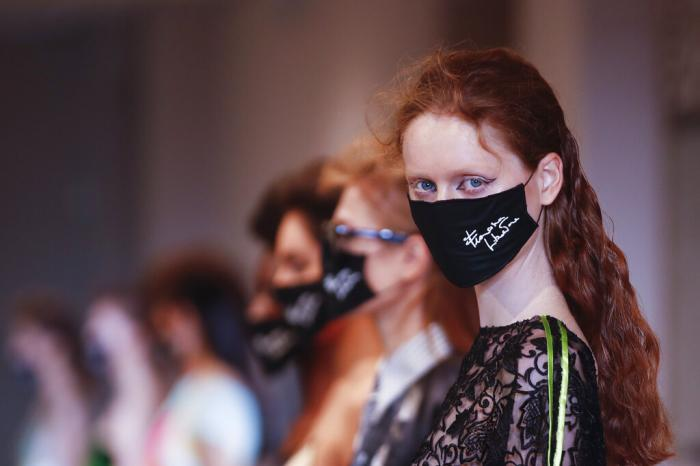 Francesco Liberatore 2021 women's spring-summer ready-to-wear collection during the Milan's fashion week.