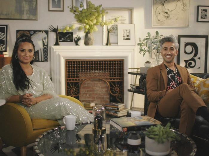 Demi Lovto and Tan France host 'Coming Out 2020' on FacebookWatch on Oct. 9