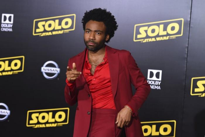 Donald Glover, the latest actor to portray Lando Calrissian